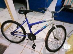 Bicicleta unissex troco por celular