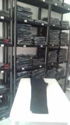 Calças Jeans Masculina Preta para Trabalho
