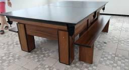 Mesa de Bilhar | Sinuca | Pebolim | Carteado | Jantar | Comercial Mod df125215