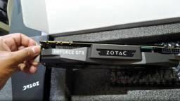 Placa de Vídeo Zotac GTX 1080 Ti AMP! Edition 11GB + Nota Fiscal - Aceito Cartão