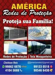 Tela Mosquiteira e Rede de Proteção * (whatsapp)