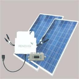 Gerador de Energia Solar 130kvm