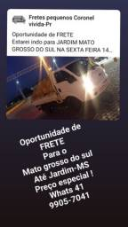 Fretes para toda região do Paraná e para todos os estados !