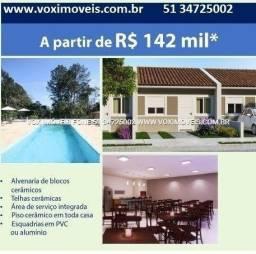Título do anúncio: Saia do Aluguel, pelo valor que paga hj, Casa 2 D na divisa de Cachoeirinha e Canoas