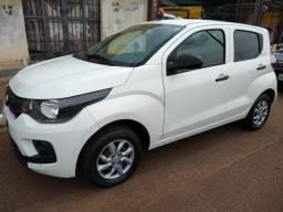 Fiat Moby Easy único dono básico financio sem entrada até 60x AC moto - 2018