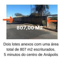 Lotes anexos no centro de Anápolis
