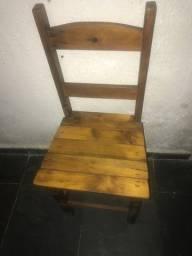 Cadeira de Madeira 40 unidades