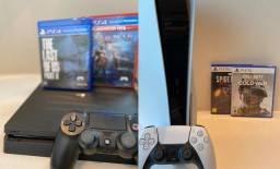 Aluguel de Playstation 4 e 5 (PS4 e PS5) delivery