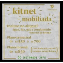 Kitnet Mobiliada com toda estrutura