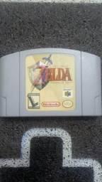 Zelda ocarina of time nacional gradiente Nintendo 64 comprar usado  São Paulo