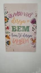 Quadros decorativos MDF comprar usado  Rio de Janeiro