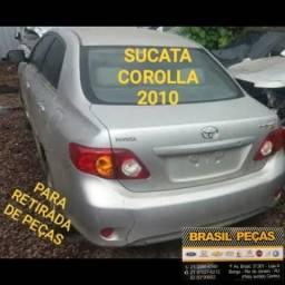 Sucata Para Retirada de Peças Corolla 2010 comprar usado  Rio de Janeiro