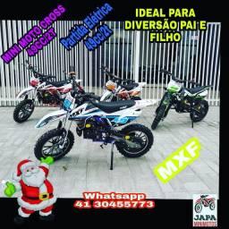 Mini Moto Cross MXF Partida Elétrica 49cc/2t Em 10 Vezes Sem Juros