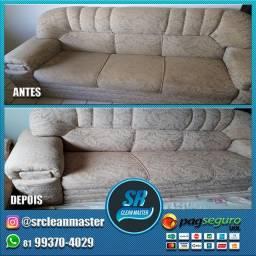Limpeza de Sofá, cadeira e colchão