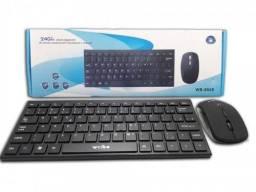 Kit Teclado + Mouse Wireless Wb 8068 / Usb 2.0
