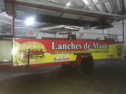 Carrinho De Lanches 4,5m
