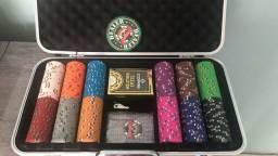 Maleta de poker Profissional, Fichas Gold rush