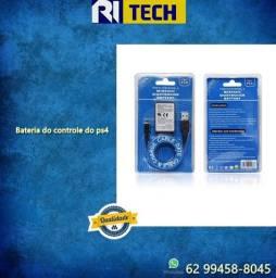 Bateria Manete Controle Ps4 2000mah + Cabo Usb Playstation 4