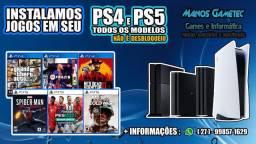 JOGOS DIGITAIS EM QUALQUER PS4 E PS5