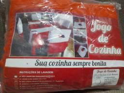 JOGO DE COZINHA - COR LARANJA