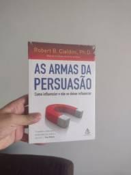 Livro - As armas da Persuasão - NOVO