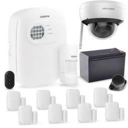 Título do anúncio: Kit de Segurança Alarme + Câmera.<br><br>