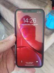 Iphone XR red 128gb. Sem face ID.