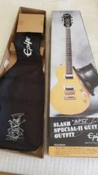 Guitarra epiphone afd slash signature + amp valv acedo 276 + gt1 boss