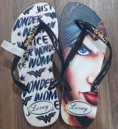 Sandálias várias estampas Masc/Femi