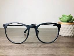 Óculos L.A - Modelo redondo, preto fosco