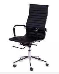 Cadeira para escritório na cor preta de variados modelo