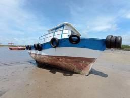 Vendo barco bote de fibra