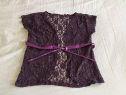 Blusas femininas: Cropped, regata La Foret... Super em conta!