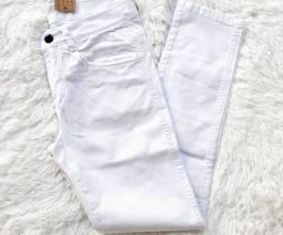 Calça jeans branca masculino