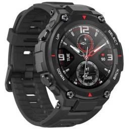 Título do anúncio: Smartwatch Xiaomi Amazfit T-Rex Rock Black Original Garantia/Loja/Nota