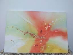 Quadro pintado a mão