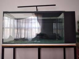 Título do anúncio: Aquario com sump lateral