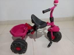 Título do anúncio: Triciclo Bandeirantes Smart Rosa