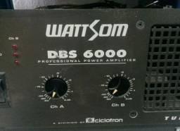 Amplificador wattsom 6000