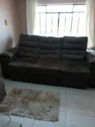 Sofá reclinável 3 meses de uso