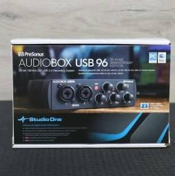Título do anúncio: Interface de áudio presonus usb!96