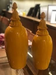 Enfeite cerâmica