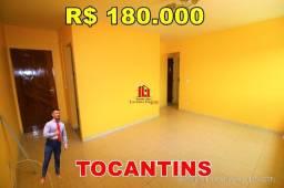 Título do anúncio: Conjunto Habitacional Tocantins 2ª Etapa, 2 quartos, 1º andar, Escriturado
