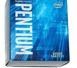 PROCESSADOR G4560 7° G E MEMÓRIA DDR4 4GB