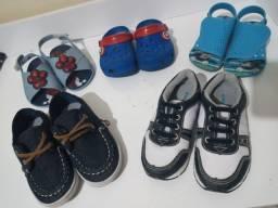 Título do anúncio: Combo calçados menino