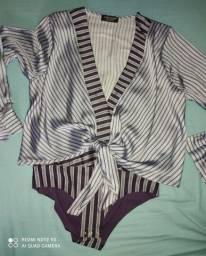 Título do anúncio: Camisa de Seda ZARA Importada tamanho P