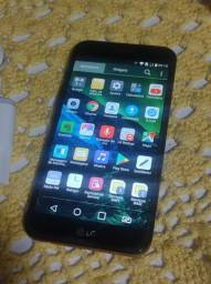 Título do anúncio: Celular LG k10 32 GB bem conservado completo  em bauru