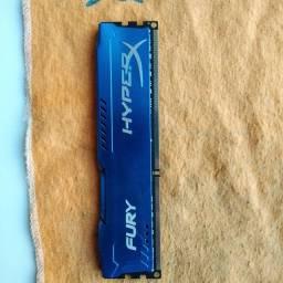 Memória RAM HyperX Fury 1x 8gb DDR3