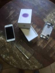 Carcaça + caixa + capinha ( Tela foi vendida).