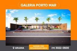 Alugue Lojas a partir de 95m² na Galeria Porto Mar, na Aruana
